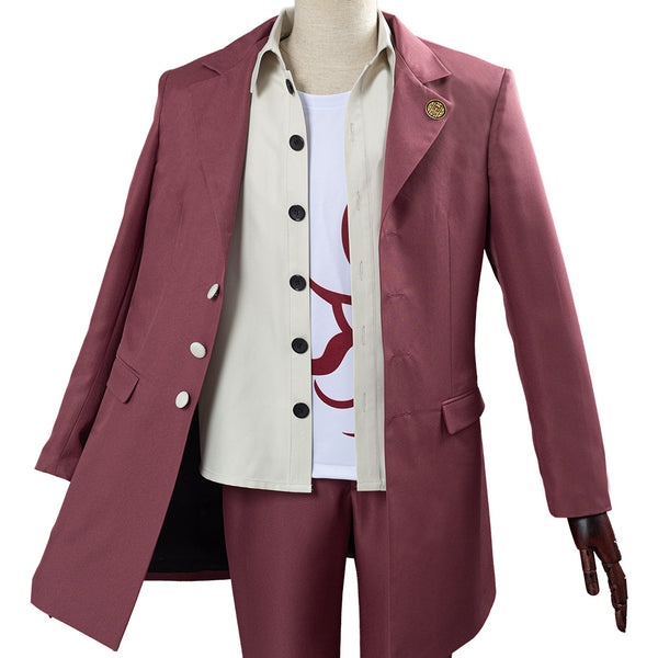 Danganronpa V3 Momota Kaito College School Uniform Outfit Cosplay Costume Halloween Carnival Costume