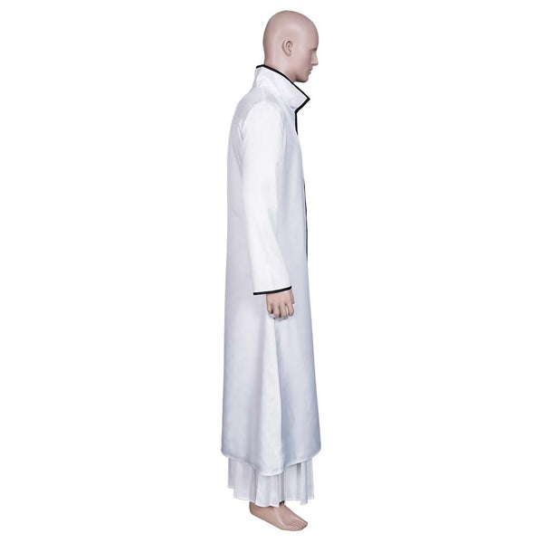 Anime Bleach Aizen Sousuke Cosplay Costume Coat Top Outfits Halloween Carnival Suit
