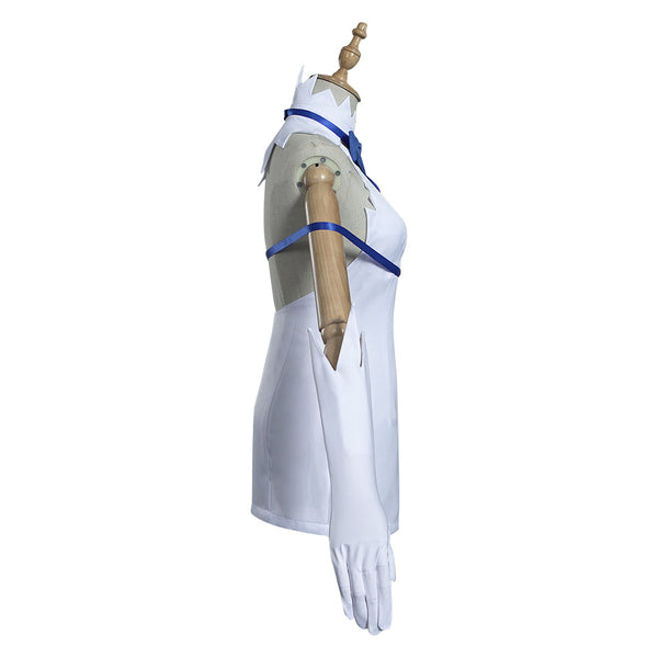 Is It Wrong to Try to Pick Up Girls in a Dungeon-Hestia Cosplay Costume Women Dress Outfits Halloween Carnival Suit