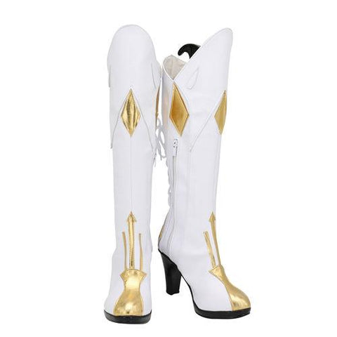 Genshin Impact Jean Boots Halloween Costumes Accessory Cosplay Shoes