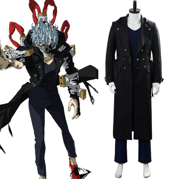 Boku no/My Hero Academia Season 4 Villain Shigaraki Tomura Uniform Cosplay Costume