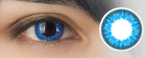 Black Butler Ciel Cosplay Cosmetic Contact Lense Blue