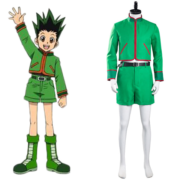 Hunter X Hunter GON·FREECSS Cosplay Costume Top Shorts Outfits Halloween Carnival Suit