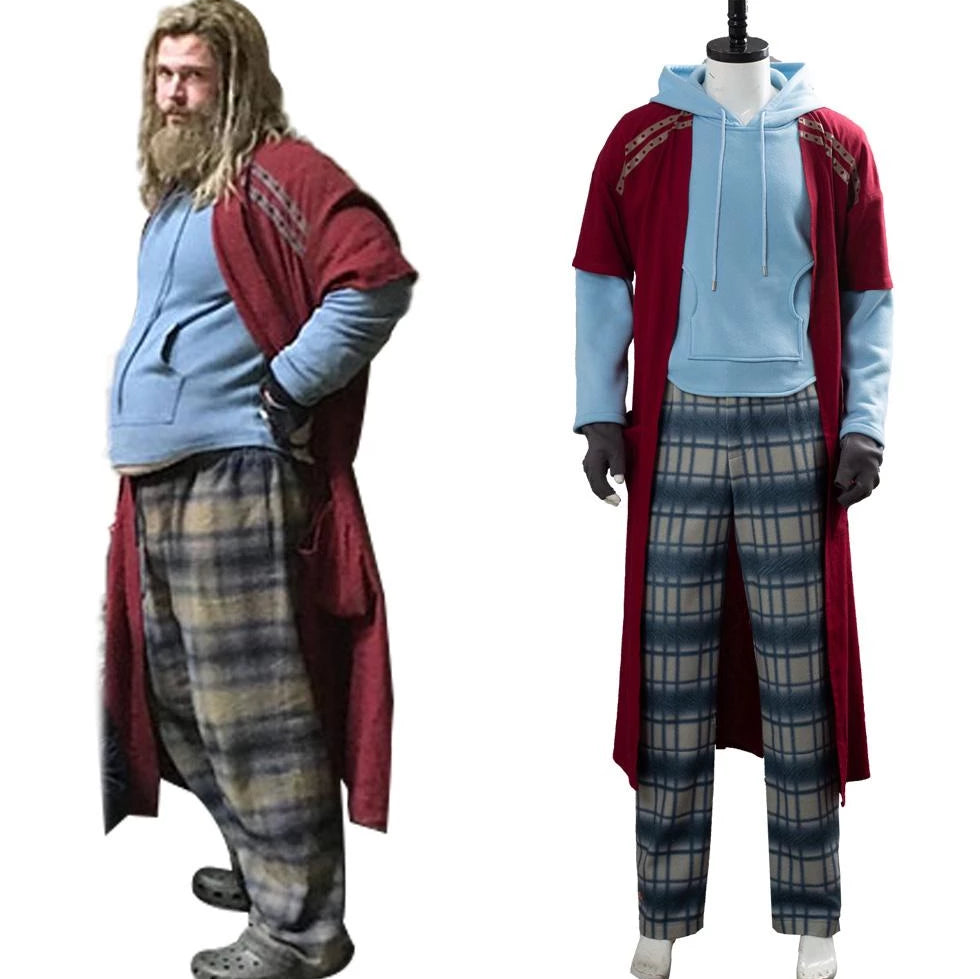 Avengers Endgame Fat Thor Cosplay Costume Outfit