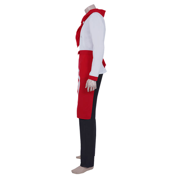 Super Danganrondo 2 Hanamura Teruki Cosplay Costume Top Pants Suit Halloween Carnival Outfit