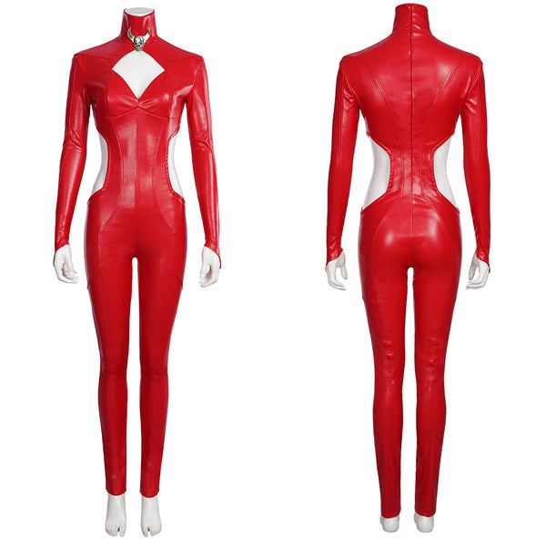 Game Marvel Future Fight-Satana Cosplay Costume Jumpsuit Romper Outfits Halloween Carnival Suit