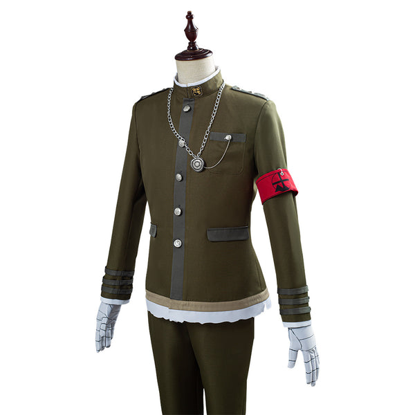 Danganronpa V3 Korekiyo Shinguji Men Uniform Outfit Cosplay Costume Halloween Carnival Costume