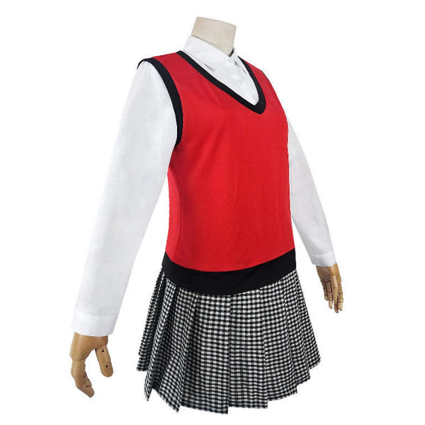 Kakegurui Midari Ikishima Cosplay Costume Women School Uniform Outfits Halloween Carnival Suit