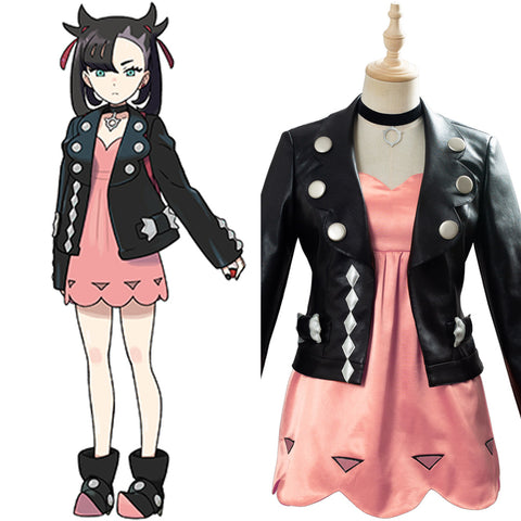 Marnie Pokemon Sword/Shield Suit Cosplay Costume