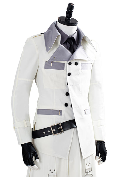 Final Fantasy VII Remake Halloween Shirt Coat Trousers Outfit Rufus Shinra Cosplay Costume