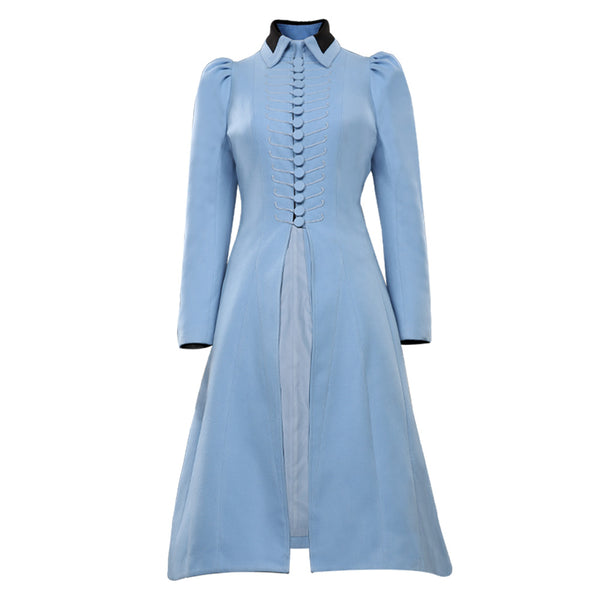 Lemony Snicket's A Series of Unfortunate Events Violet Baudelaire Halloween Carnival Suit Cosplay Costume Coat