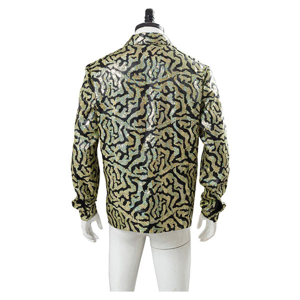 Tiger King Joe Exotic Cosplay Costume Adult Men Shirt Halloween Carnival Costume