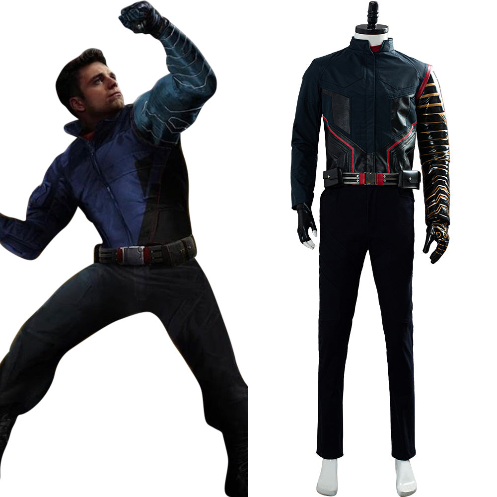 2020 Movie Battle Uniform Outfit The Falcon and the Winter Soldier Buggy Cosplay Costume