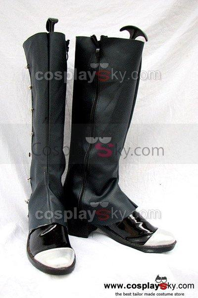 Black Butler Ciel Cosplay Boots Shoes Black Custom-Made