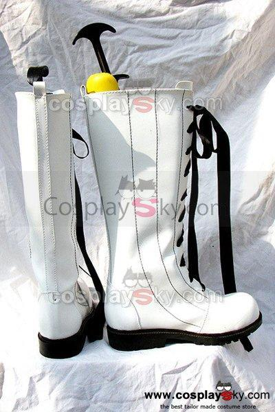 Black Butler Ciel Cosplay Boots White Shoes