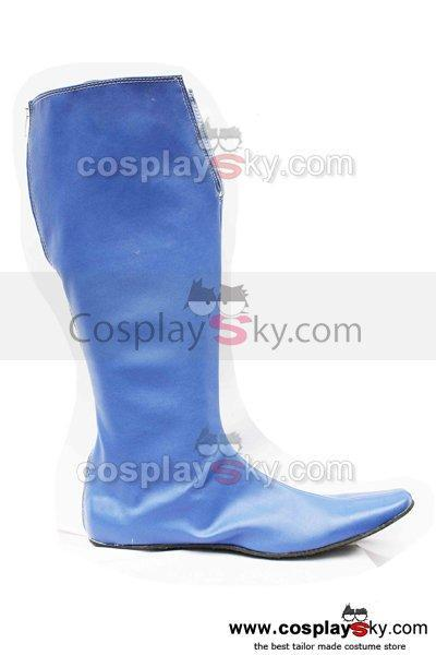 Bleach Soul Cosplay Boots Shoes-Blue