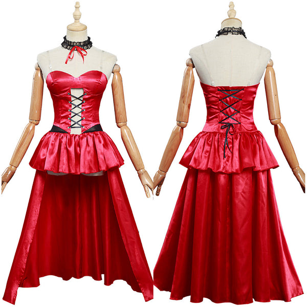 Anime Date A Bullet Tokisaki Kurumi Cosplay Costume Women Girls Dress Outfits Halloween Carnival Costume