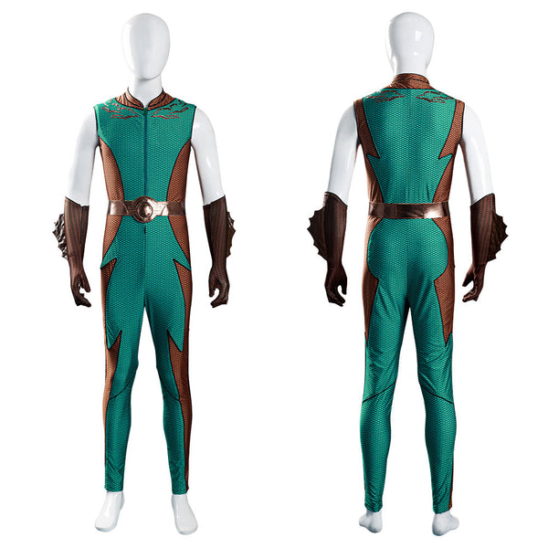 The Boys Ocean Master Cosplay Costume Jumpsuit Outfits Halloween Carnival Suit