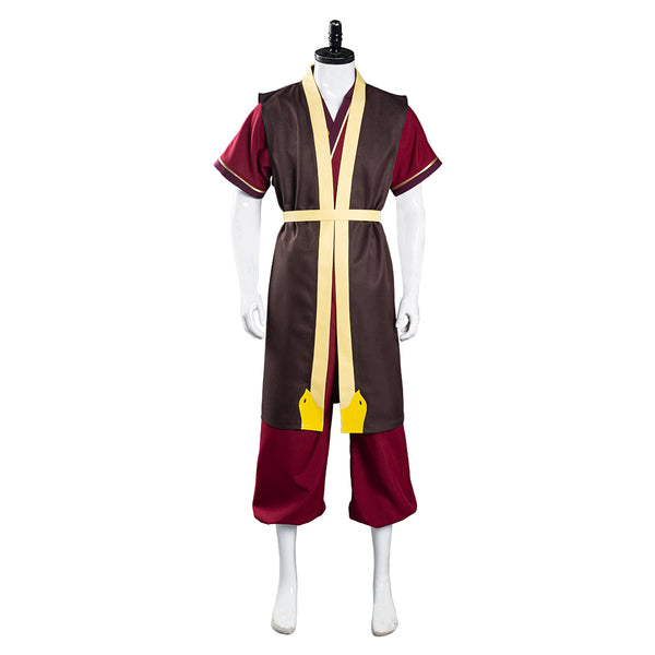 Avatar: The Last Airbender Zuko Cosplay Costume Pants Vest Outfits Halloween Carnival Suit