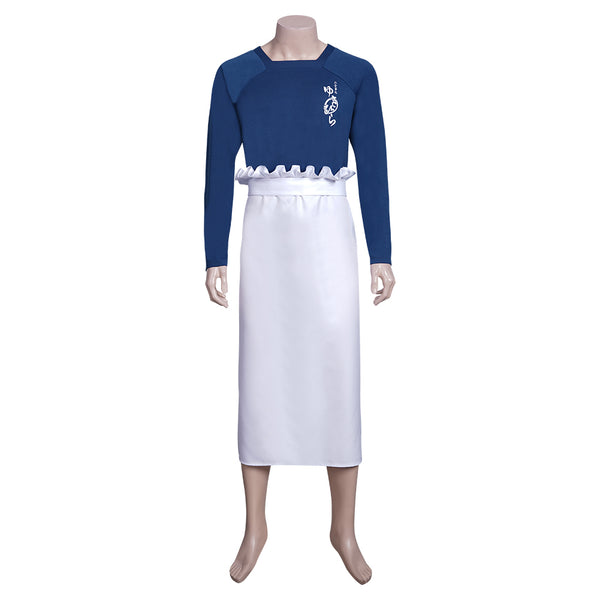 Anime Food Wars! Shokugeki no Soma Souma Yukihira Cosplay Costume Top Apron Outfits Halloween Carnival Costume