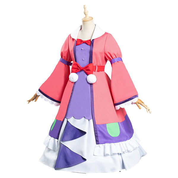 Maoujou de Oyasumi Sleepy Princess in the Demon Castle Aurora Suya Rhys Kaymin Cosplay Costume Dress Outfits Halloween Carnival Suit