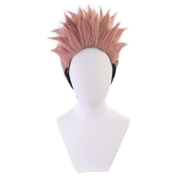 Jujutsu Kaisen Ryomen Sukuna Cosplay Wig Heat Resistant Synthetic Hair Carnival Halloween Party Props