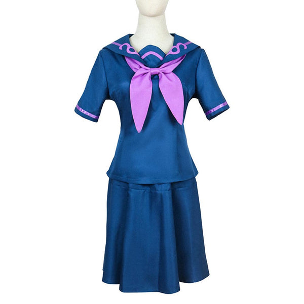 JoJo's Bizarre Adventure Yamagishi Yukako Cosplay Costume Uniform Skirt Outfits Halloween Carnival Suit
