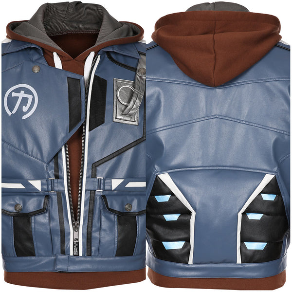 Battle Royale-Hyper Scape Cosplay Costume Jacket Hoodie Outfits Halloween Carnival Suit