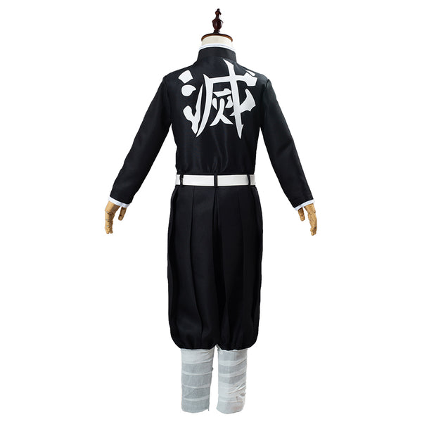 Anime Demon Slayer Kimetsu no Yaiba Iguro Obanai Kids Children Uniform Outfits Cosplay Costume