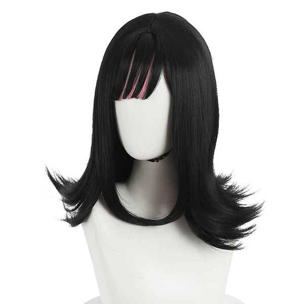 Anime Akudama Drive Ordinary Person/Swindler Cosplay Wig Heat Resistant Synthetic Hair Carnival Halloween Party Props