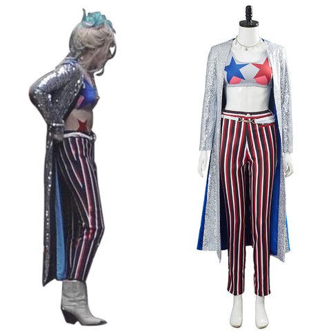 Birds of Prey Harley Quinn Outfit Cosplay Costume