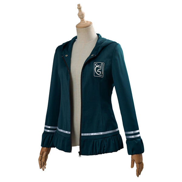 Anime Danganronpa 2 Cosplay Costume Chiaki Nanami Uniform Jacket Coat Halloween Carnival Costume
