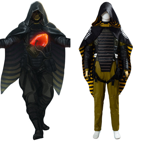 Higgs Monaghan Void Out Cape Death Stranding Homo Demens Suit Cosplay Costume