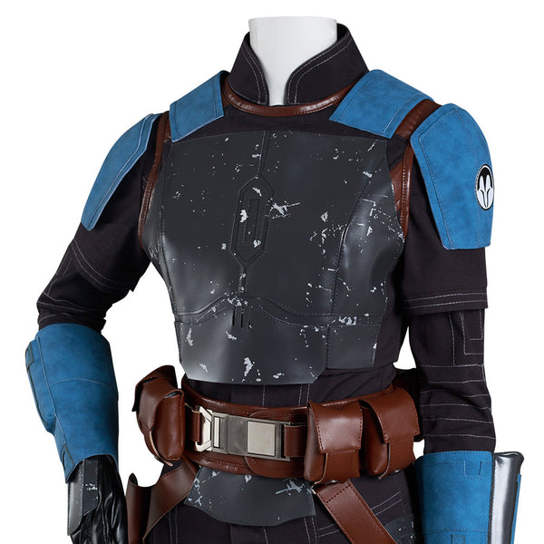 The Mandalorian S2 Bo-Katan Kryze Cosplay Costume Jumpsuit Outfits Halloween Carnival Suit