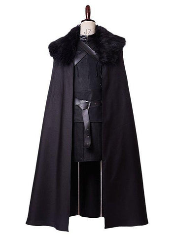 GoT Game of Thrones Jon Snow Night's Watch Outfit Cosplay Costume