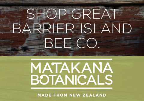 High quality Manuka Honey is blended with natural ingredients in Great Barrier Island Bee Co. products to soothe, nourish and balance.