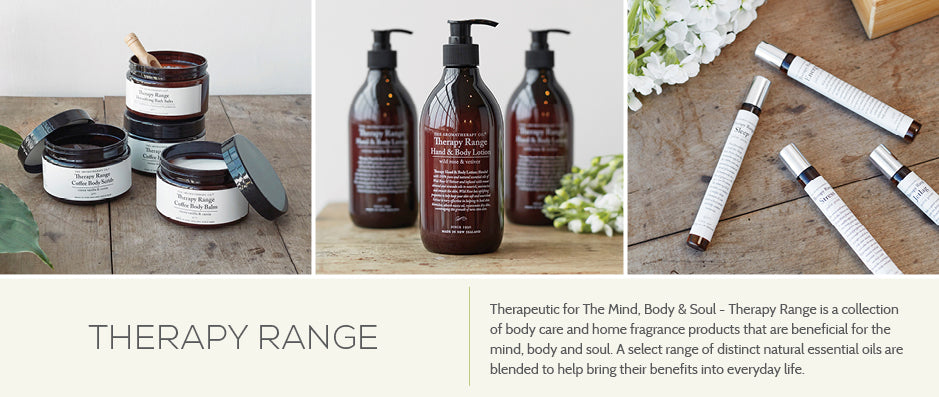 The Aromatherapy Co. Therapy Range - Beneficial for Mind, Body & Soul