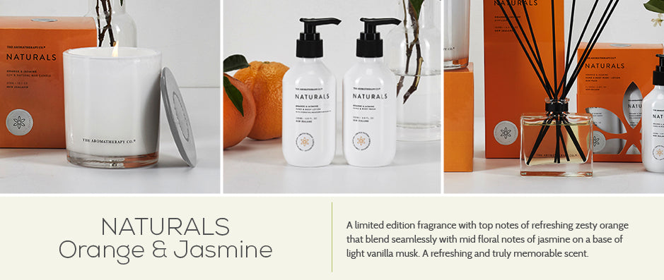 The Aromatherapy Co. Naturals Limited Edition Orange & Jasmine