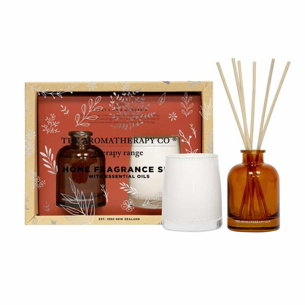 Therapy Range Home Fragrance Set | Sweet Lime & Mandarin