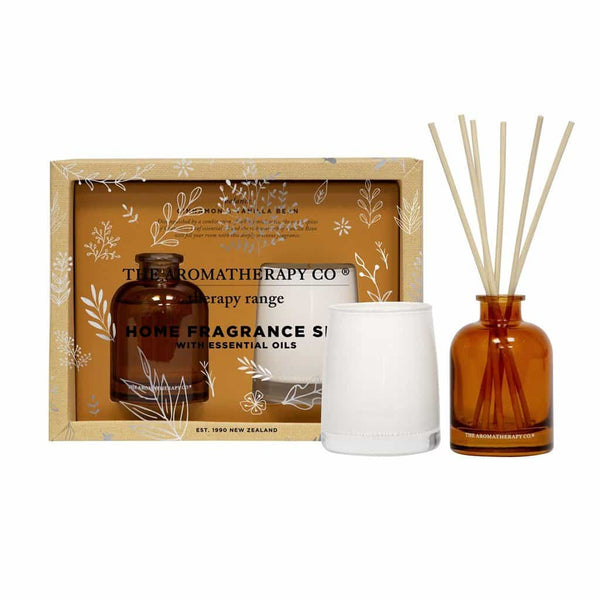 Therapy Range Home Fragrance Set | Cinnamon & Vanilla Bean