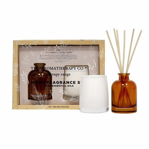 Therapy Range Home Fragrance Set | Lavender & Clary Sage