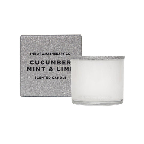 The Aromatherapy Co. Cucumber, Mint & Lime Candle 100g