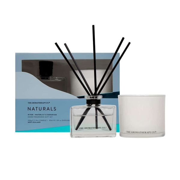 The Aromatherapy Co. Naturals Home Fragrance Gift Set | River