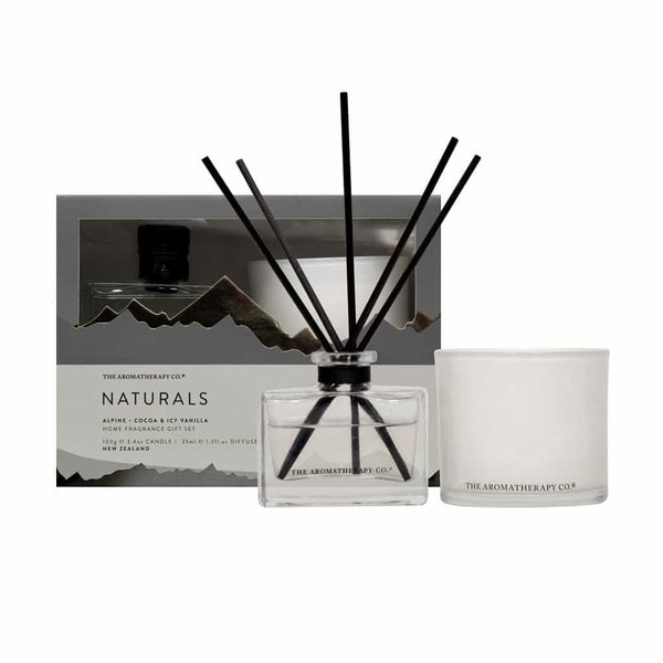 The Aromatherapy Co. Naturals Home Fragrance Gift Set | Alpine