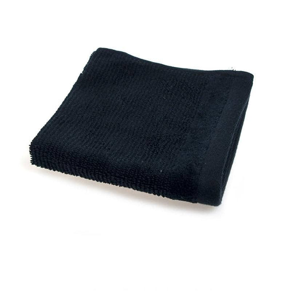 Accessories - Cotton Face Washer 33x33cm - Black