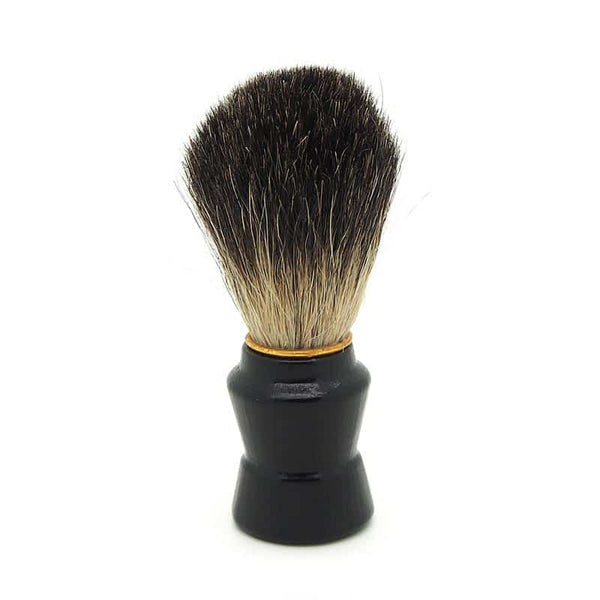 Accessories - Natural Hair Shaving Brush - Wooden Handle