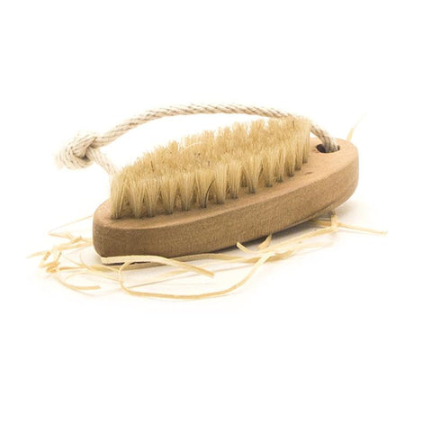Accessories - Wooden Nail Brush - Small With Loop