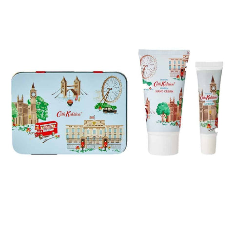 Cath Kidston - Hand Cream & Lip Balm Tin - London