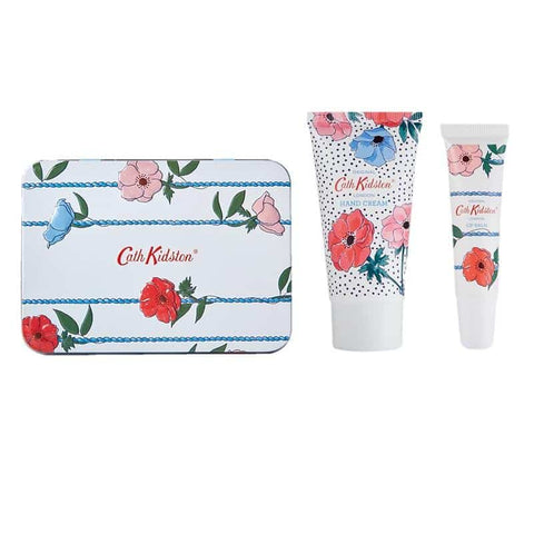 Cath Kidston - Hand Cream & Lip Balm Tin - Posy Bunch