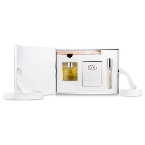 iKOU - Aromatherapy Home Fragrance Gift Pack - Australian Rainforest - Oscura - Bath, Body & Home Fragrance